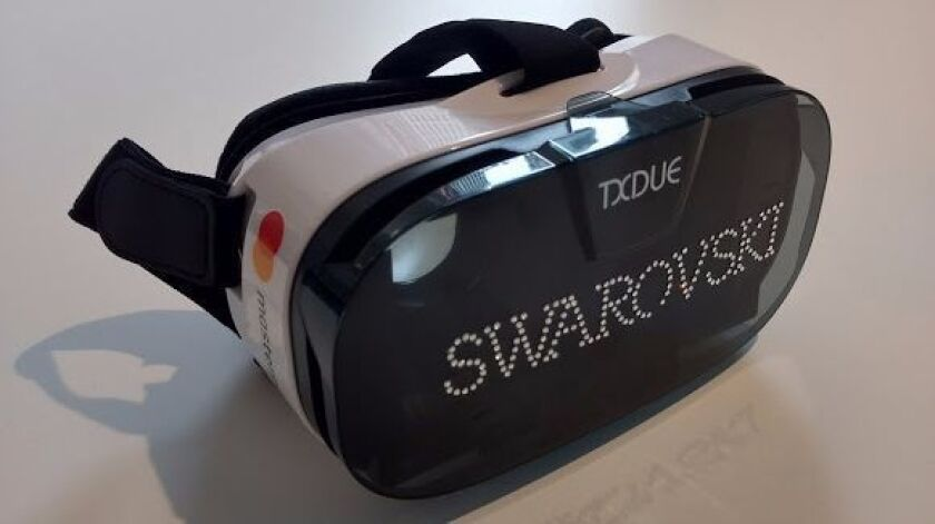 Mastercard and Swarovski have partnered for a VR shopping app.
