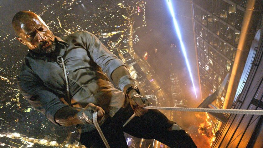 Global icon DWAYNE JOHNSON leads the cast of Legendary's Skyscraper as former FBI Hostage Rescue Tea