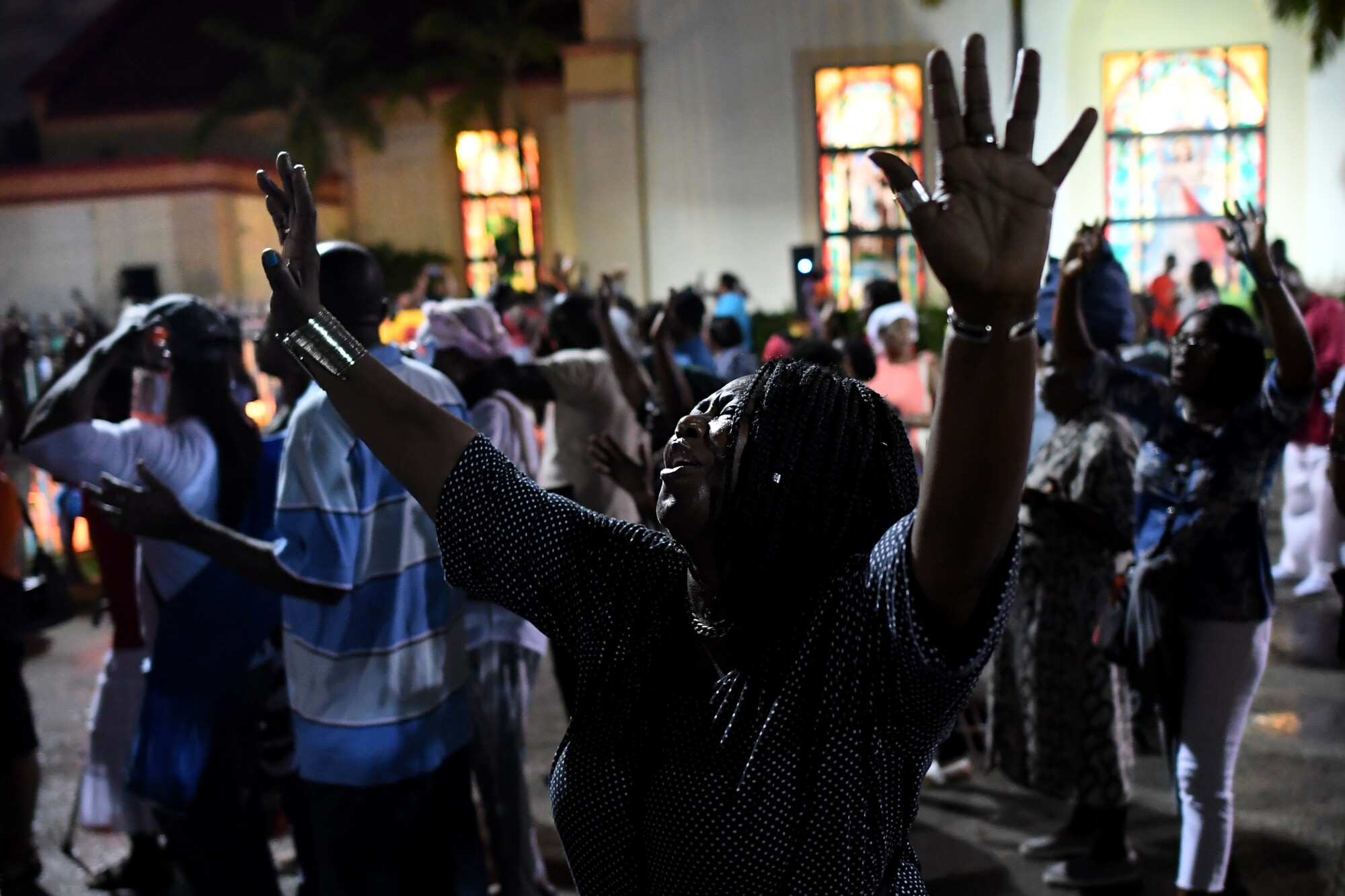 Haitian Americans celebrate Jericho in Miami