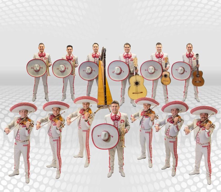 Esta es la formación actual del Mariachi Sol de México, que estrena nueva producción con dos conciertos en un mismo día.