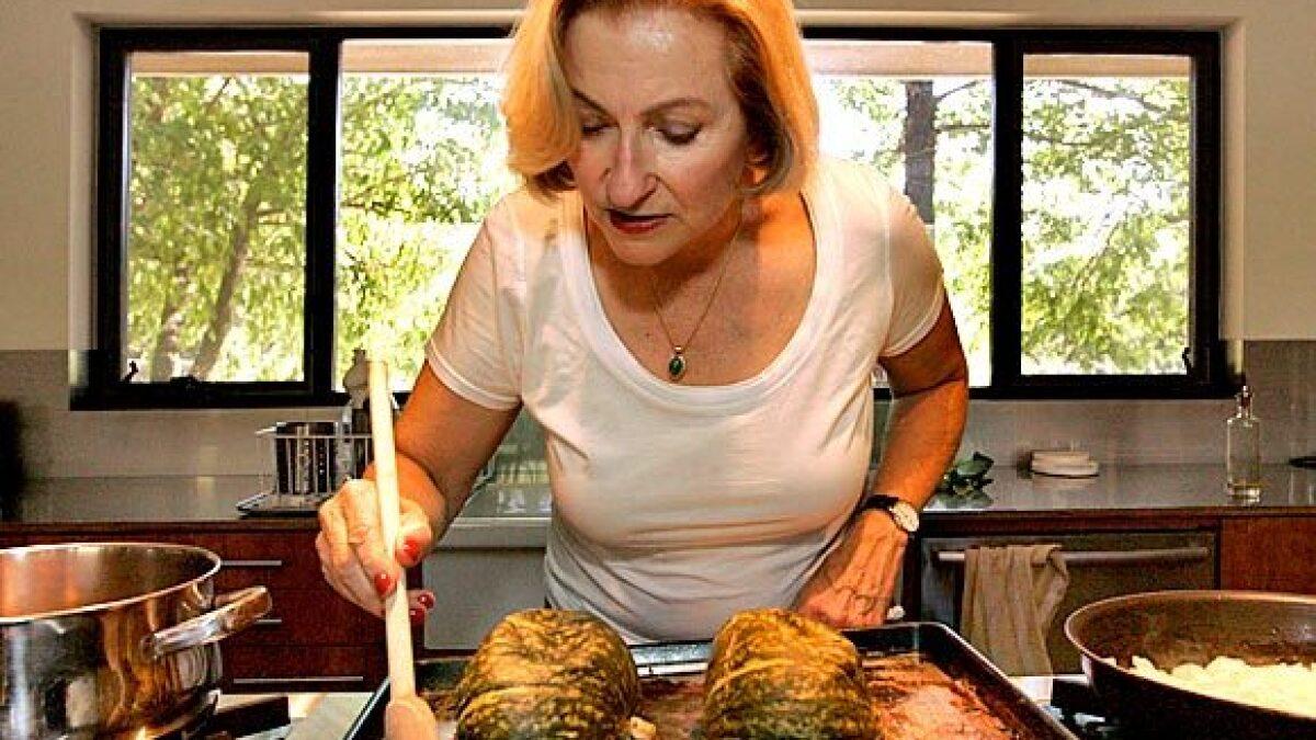 Vegetarian Cookbook Author Anna Thomas Ladles Out Love Soup Los Angeles Times