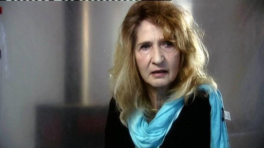 "Monika Goeth in the movie ""Hitler's Children."""