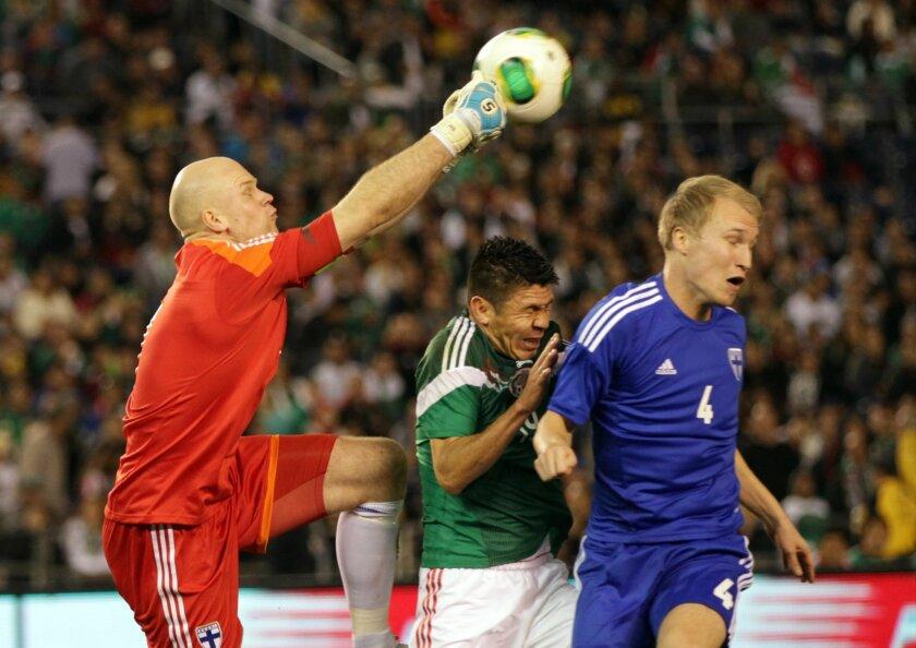 Mexico vs Finland Soccer