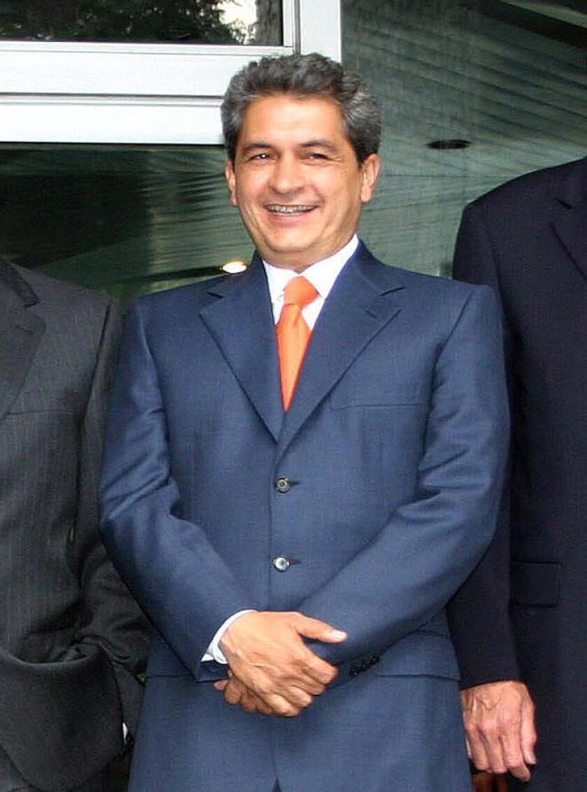 El exgobernador del estado mexicano de Tamaulipas Tomás Yarrington. EFE/Archivo