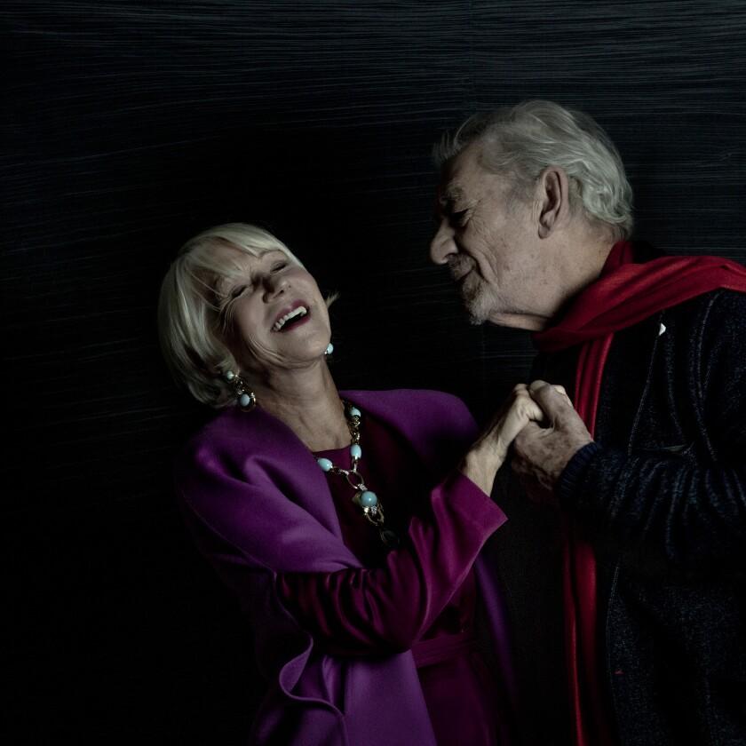 Helen Mirren and Ian McKellen