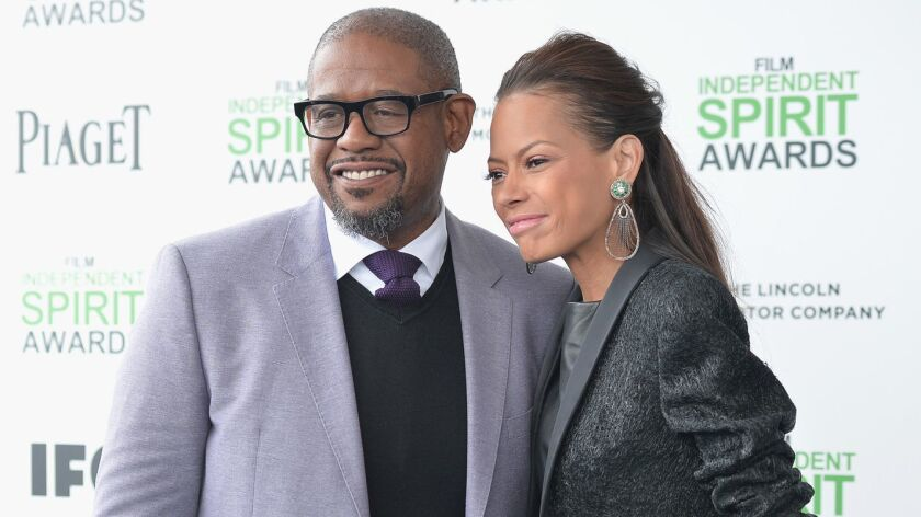 Actor Forest Whitaker and his wife Keisha Nash Whitaker are splitting up.