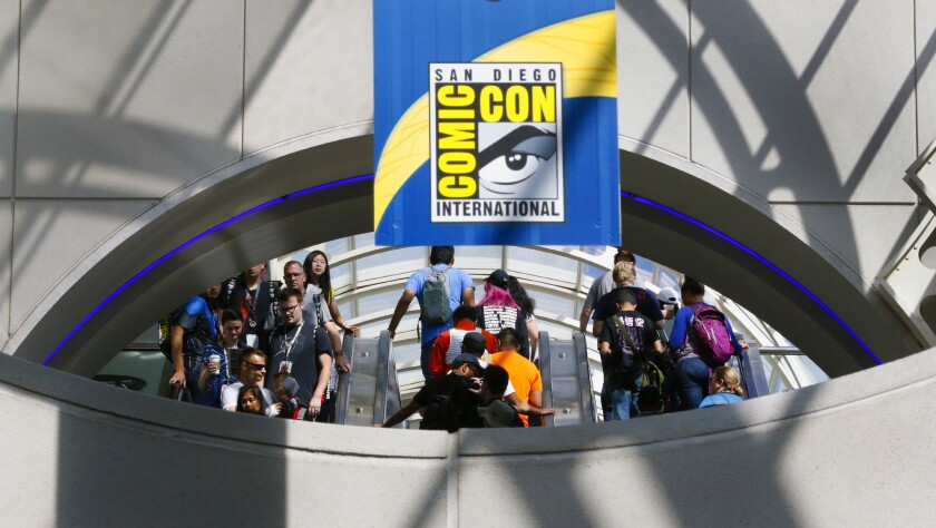 The doors open for the final day of Comic-Con 2018 in San Diego.