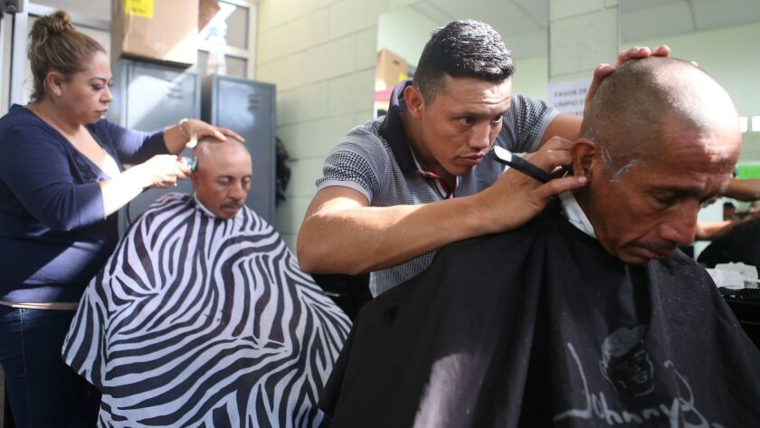 Shelters In Border Town Of Tijuana Aids Deportees From The U.S..
