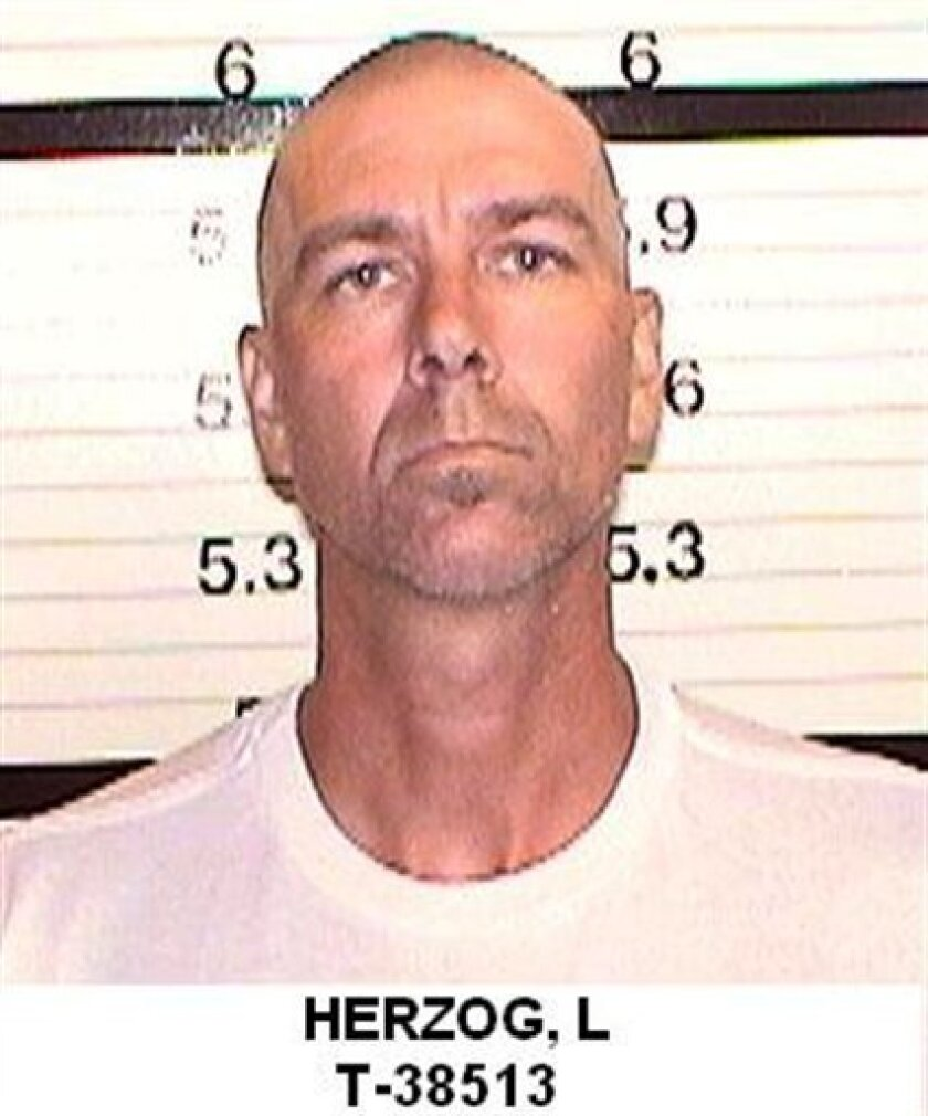 """In this undated photo provided by the California Department of Corrections, Loren Joseph Herzog is seen. California Department of Corrections and Rehabilitation says Herzog will be paroled from Norco prison in Riverside County sometime in """"mid-September"""" and that there's little it can do about Herz"""