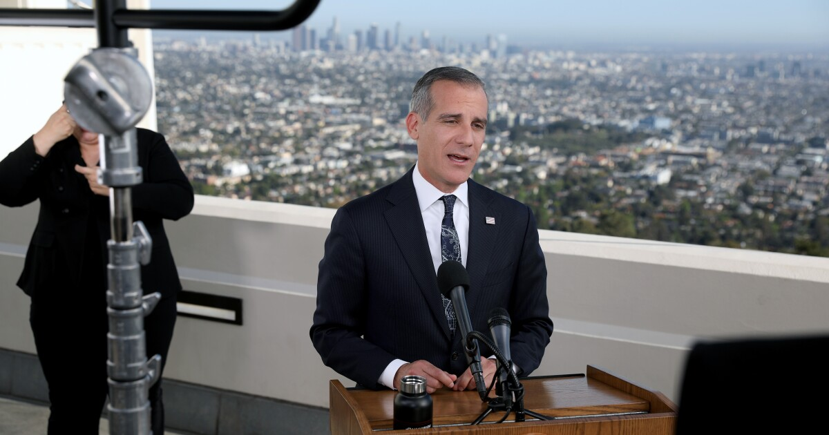 Mayor Garcetti reportedly being considered for India ambassador post