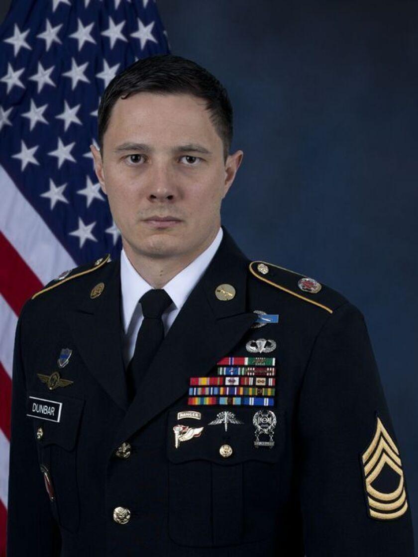 Master Sgt. Johnathan J. Dunbar
