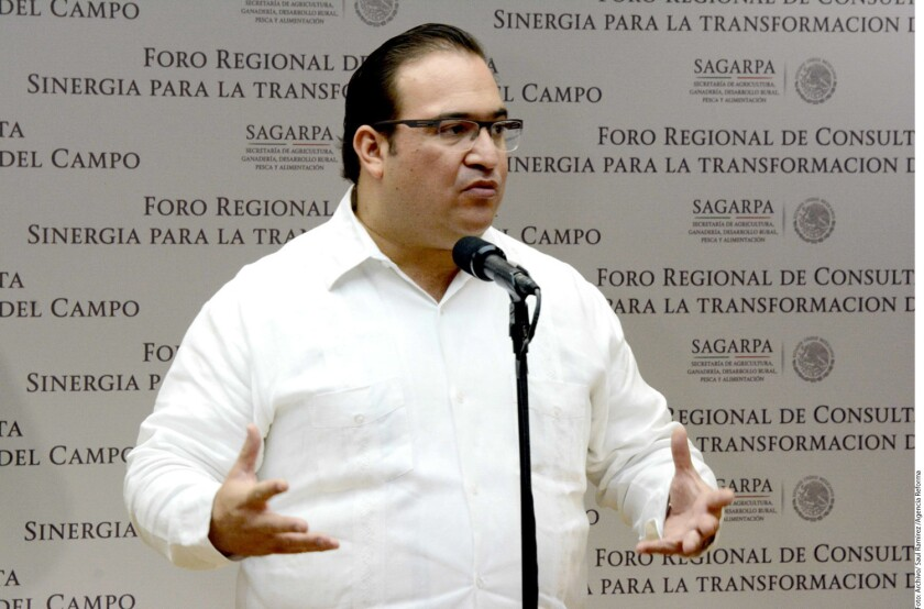 Javier Duarte, ex gobernador de Veracruz.