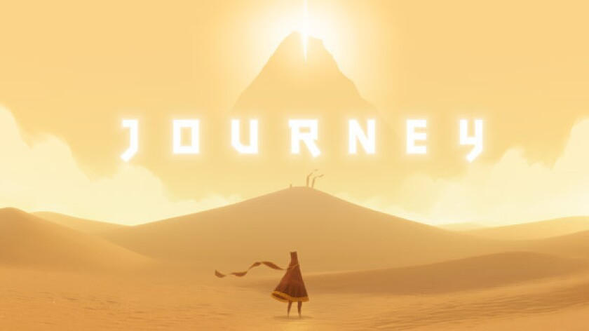 """""""Journey,"""" one of several games created by Thatgamecompany, is credited with pushing the artistic boundaries of gaming."""