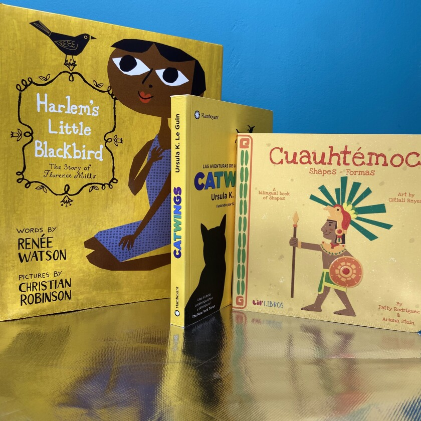 Some children's books available through Makara by Mail.
