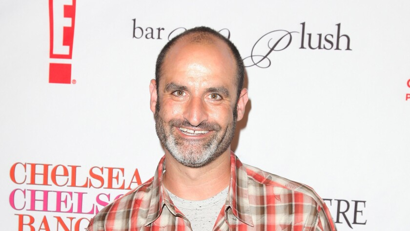 Brody Stevens at a Chelsea Handler book party at the Beverly Hilton Hotel in March 2010.