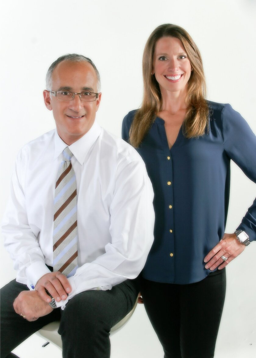 Dr. Joe D'Angelo and Dr. Ashley Olson, of D'Angelo Olson La Jolla Dentistry