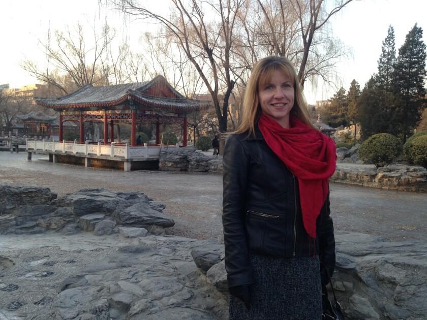 Los Angeles Times reporter Julie Makinen in Beijing.