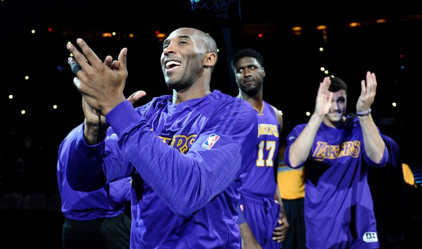 Lakers won't say how many minutes Kobe Bryant will play in finale