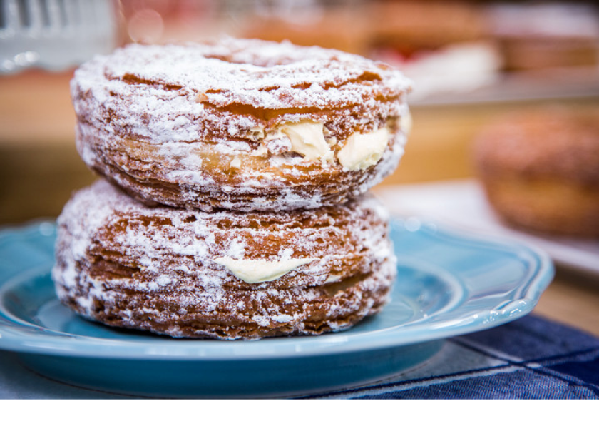 The Cronut, as re-imagined by Christina Ferrare.