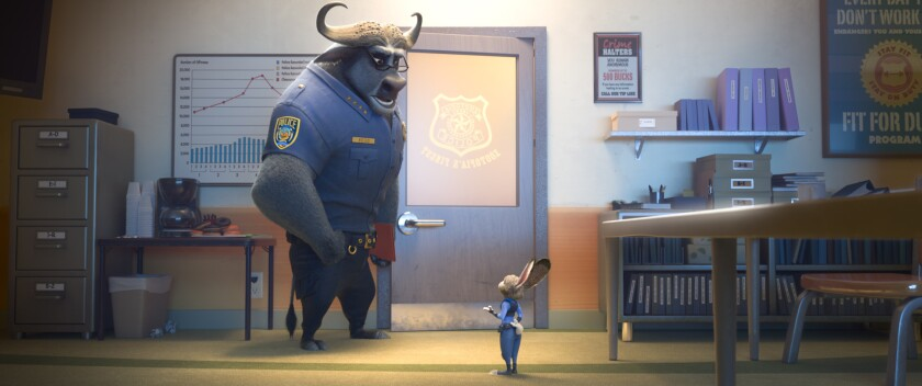 "A scene from Walt Disney Co.'s animated hit ""Zootopia."""