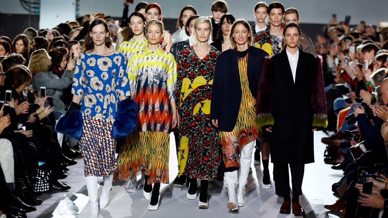2624295c At Paris Fashion Week, Dries Van Noten and Kenzo make looking back ...