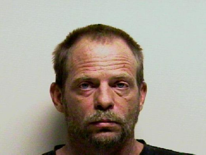 This undated booking photo provided by the Utah County Sheriff's Office shows Kenneth Drew. Drew, a Utah repossession agent has been charged with manslaughter after prosecutors said he forced a mother from a road in her SUV while trying to take back the vehicle. Drew was set to make his first court