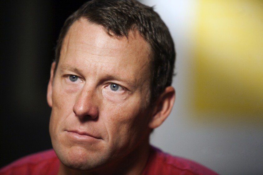 Lance Armstrong in February 2011.
