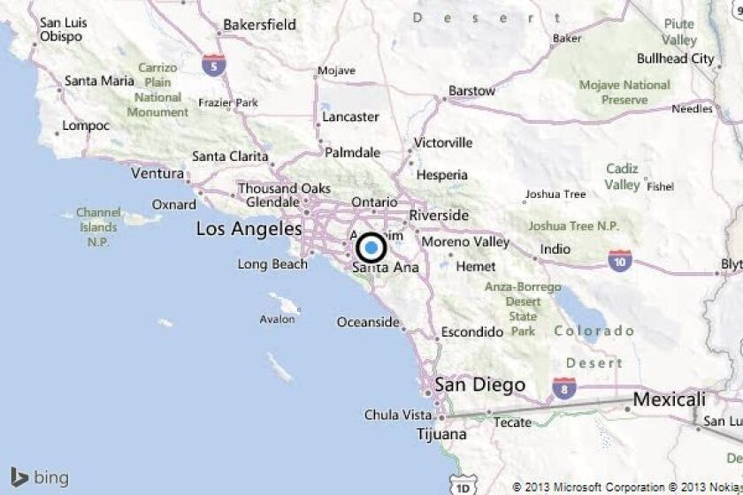 Earthquake 3 0 Quake Strikes Near Corona Los Angeles Times