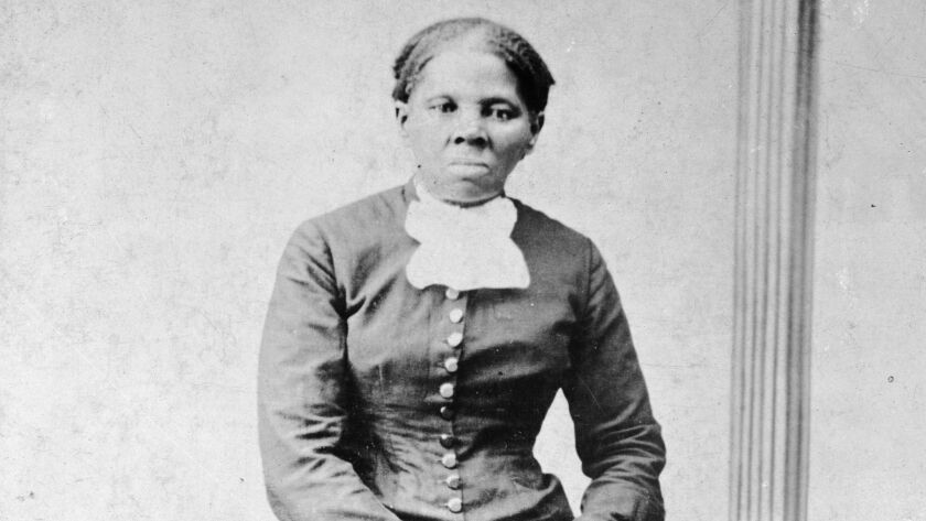 This image provided by the Library of Congress shows Harriet Tubman, between 1860 and 1875. A Treasu