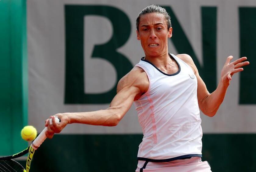 En la imagen, la tenista italiana Francesca Schiavone. EFE/Archivo