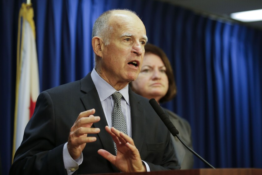 California Gov. Jerry Brown has vetoed legislation to protect small-franchise owners against fast-food giants and convenience store chains.