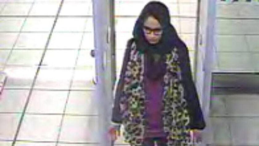 Shamima Begum, who is in a refugee camp in Syria wants to return to Britain, Gatwick, United Kingdom - 21 Feb 2015