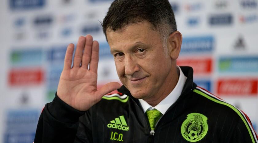 Juan Carlos Osorio, entrenador colombiano de la selección mexicana.