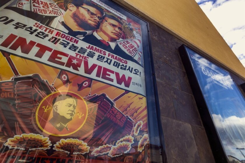 """The Interview"" poster"
