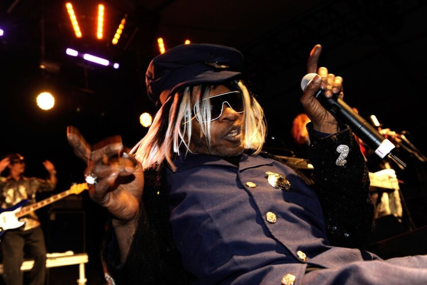 Musician Sly Stone performs during day three of the Coachella Valley Music & Art Festival held at The Empire Polo Club on April 18, 2010 in Indio, California.
