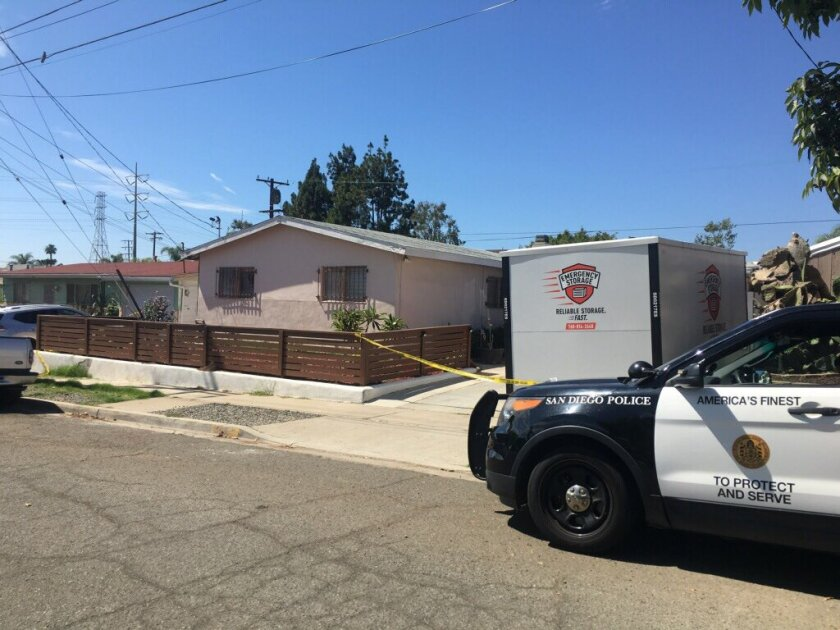 A man caught breaking into a home used a crowbar to viciously attack the 72-year-old homeowner Monday morning on Kesling Street in Clairemont, San Diego police said.