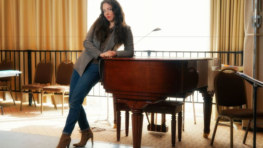 """Los Angeles-based mezzo-soprano Peabody Southwell plays the title role in San Diego Opera's """"The Tragedy of Carmen."""""""