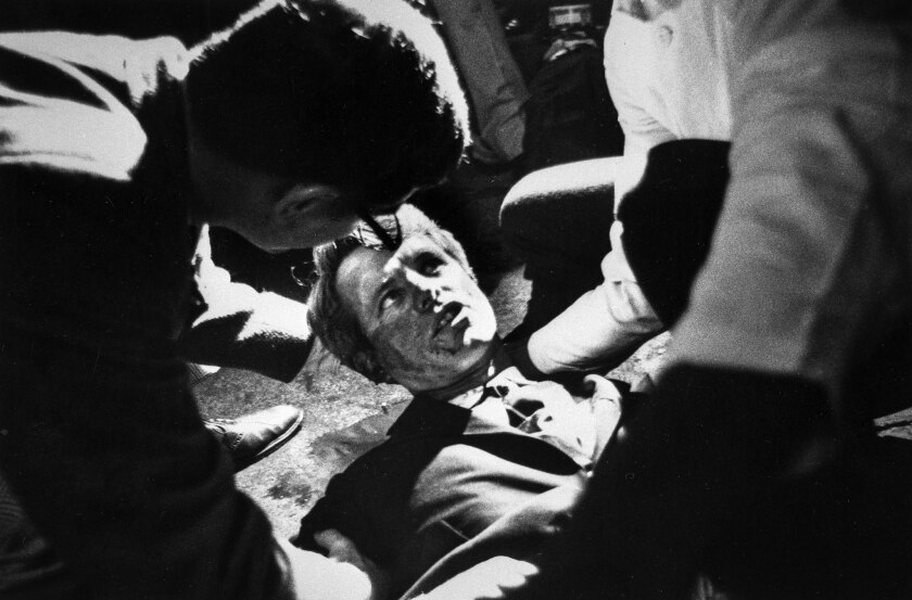From The Archives Boris Yaro Covers The Assassination Of Robert F Kennedy Los Angeles Times