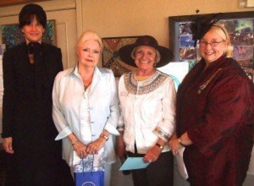 Left to right: Kathleen Loftman, Ruth Tilton, Joanne Dudek, Marti Meiners