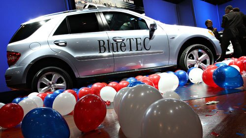 2009 Mercedes-Benz BlueTEC Diesel SUVs