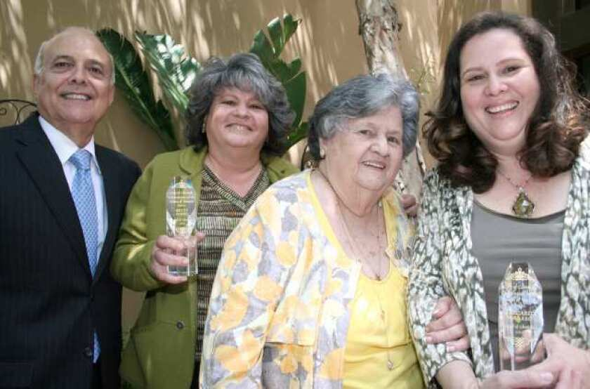 On the Town: 'Women of Courage' are honored at luncheon