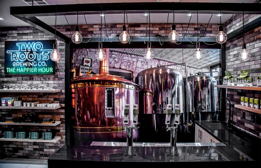 Two Roots, the world's first cannabinoid-infused craft beer, can be purchased within ReLeaf Dispen