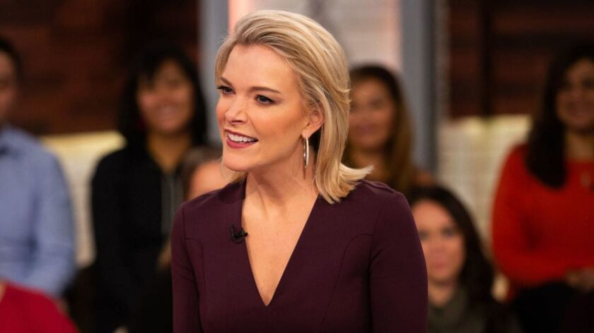 "Megyn Kelly during a recent episode of NBC's ""Megyn Kelly Today."""