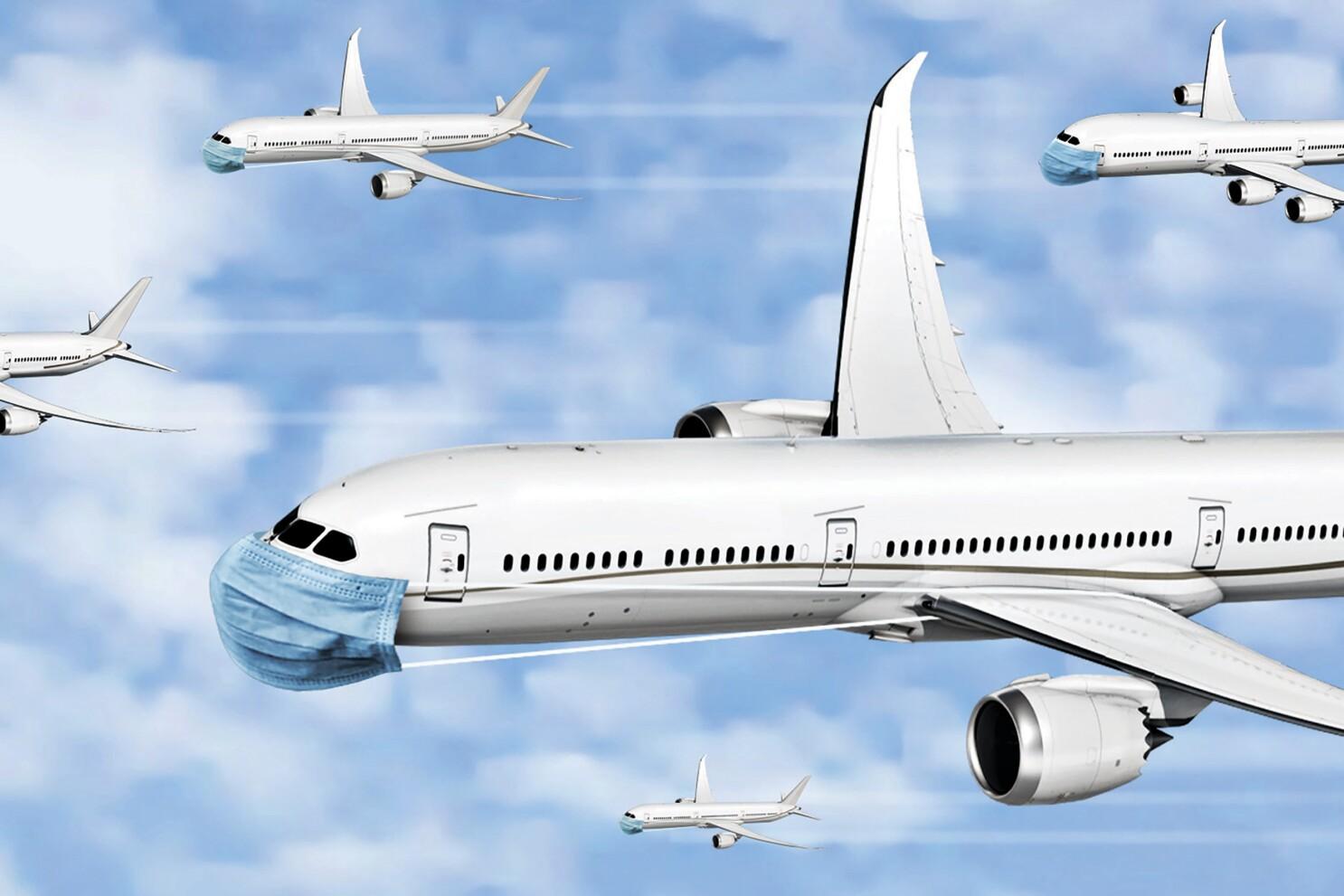 Coronavirus stories: Flight attendant tests positive - Los Angeles Times
