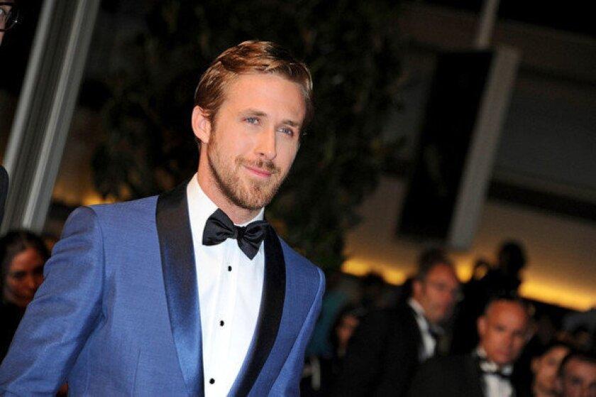 Ryan Gosling in Cannes in 2011