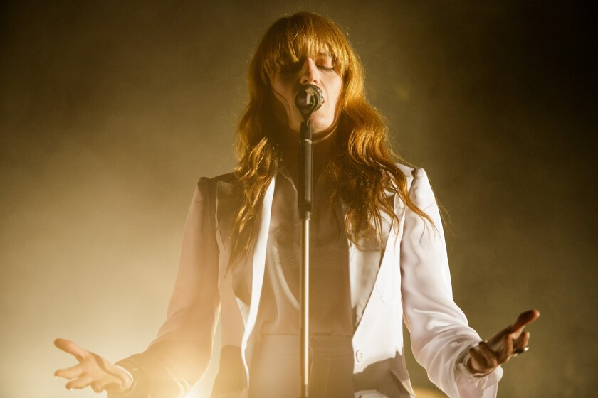 Florence + the Machine performs at Coachella.