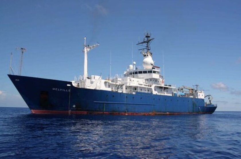 The Melville is among the oldest and largest academic research vessels in the world.