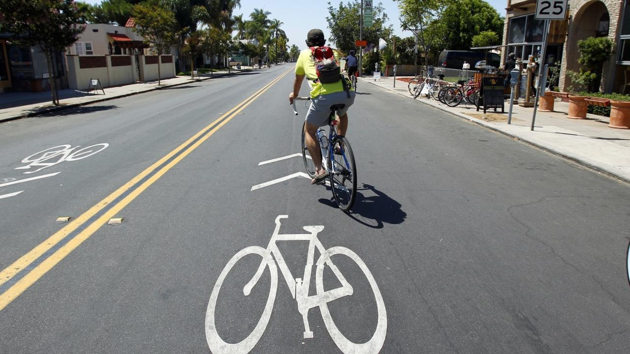 Are bikes lanes bad for business?