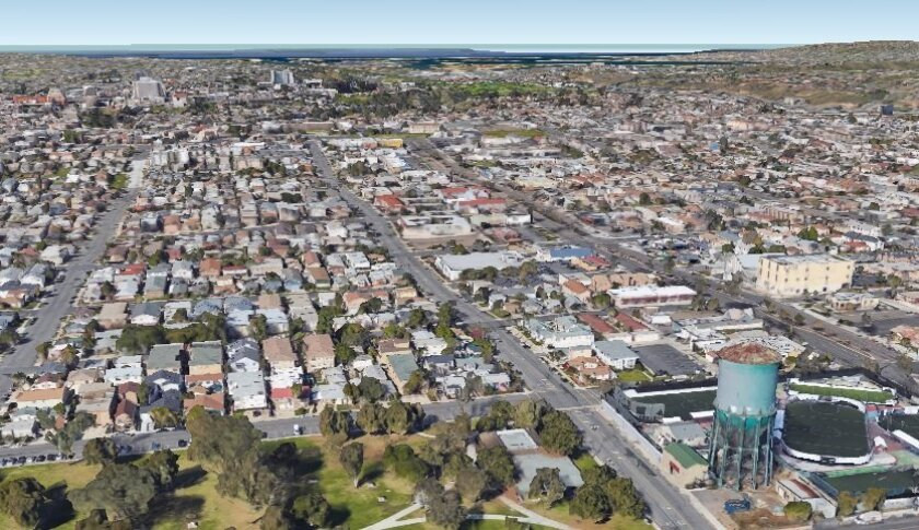 North Park aerial