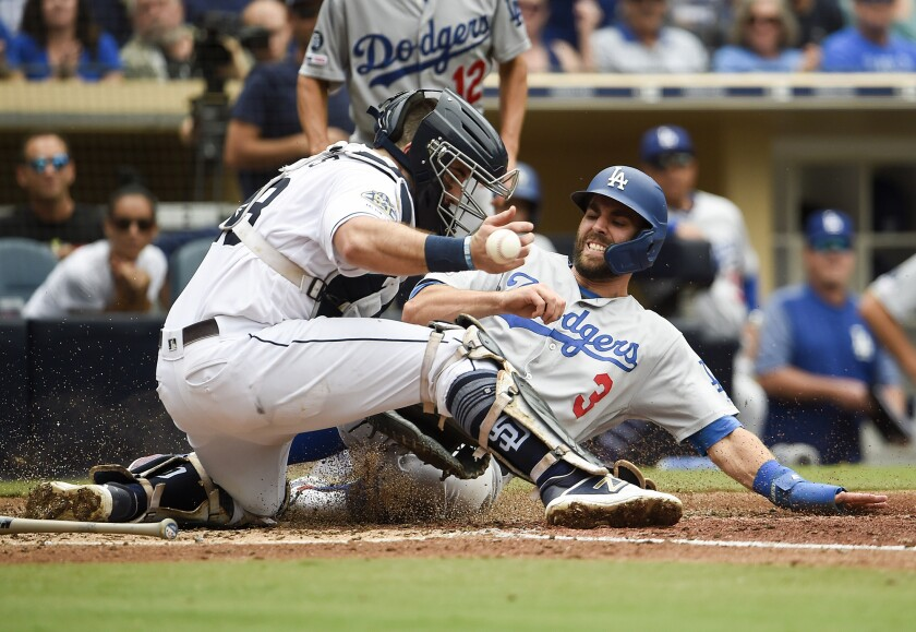 The Padres hope to chip away at the N.L. West powerhouse Dodgers, who beat San Diego 1-0 on Thursday at Petco Park.